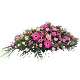 Pink Mixed Flower double ended spray